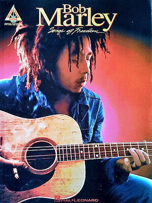 BOB MARLEY - SONGS OF FREEDOM - 199 PAGE SONGBOOK - RECORDED GUITAR VERSIONS