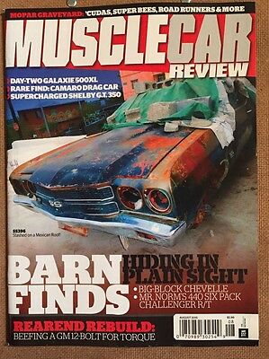 Muscle Car Review Barn Finds Hiding Plain Sight Rebuild Aug 2015 FREE -