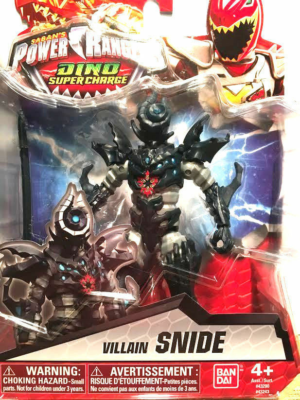 Power Rangers Dino Super Charge - Villain Snide