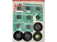 A COLLECTION OF BEATLES SINGLES FOR SALE. ALL ORIGINAL PRESSINGS