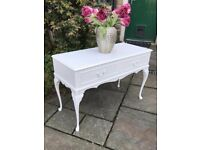 TV Cabinet Stand Unit Dresser Console Sideboard ~ WHITE