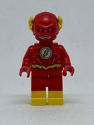 NEW LEGO The Flash Gold GENUINE Minifigure DC Superhero Batman 76117 Mini Figure