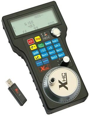3 Axis 2.4g Usb Mach3 100ppr Mpg Handle Wheel Cnc Wireless Remote Controller