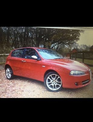 ALFA ROMEO 147T OWNERS MANUAL BOOK & CASE 2007