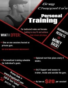 Affordable Certified Personal Trainer - Hosted at Personal Gym