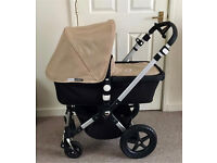 Bugaboo cameleon 3 sand or pink hood and apron etc