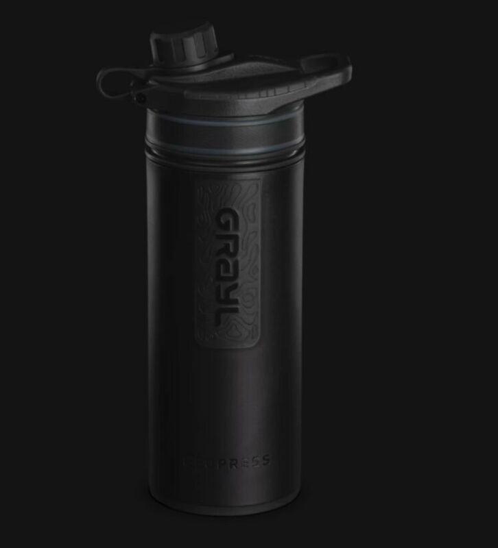 GRAYL GeoPress 24 oz Water Purifier Bottle Black