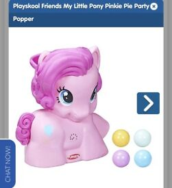 My little pony ball popper