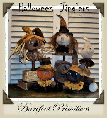 Make Do Halloween (Halloween Jinglers Cat Ghost Pumpkin Scarecrow Witch make do Paper)