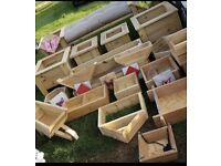 Garden planters/ wooden furniture/wall features/benches