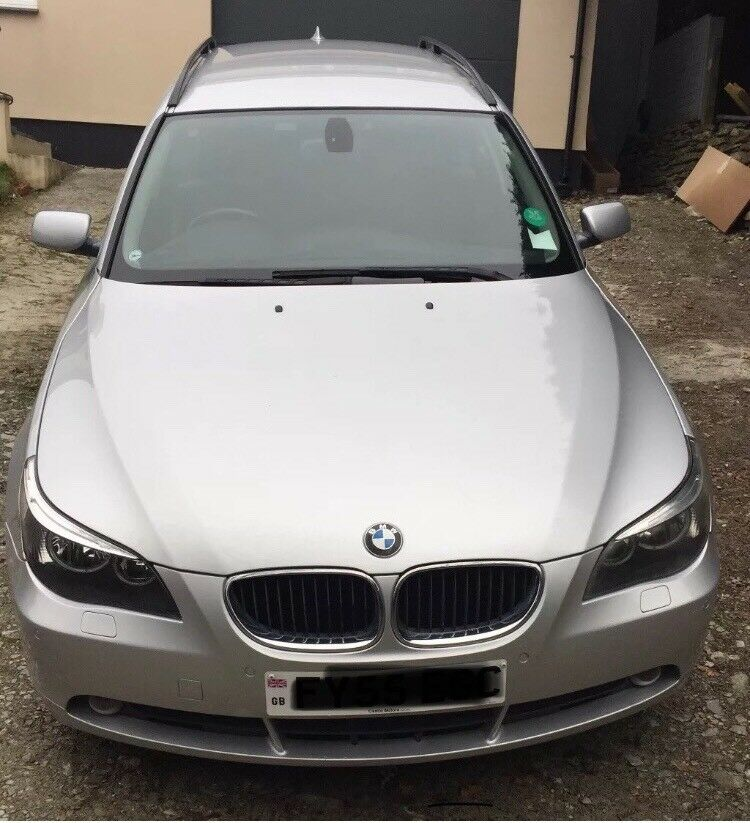 🛑 NEW SERVICE & TIMING BELT & TYRES 🛑 BMW 525 6Gear AUTOMATIC DIESEL ✅ FULL HISTORY ✅ SWAP OFFERS
