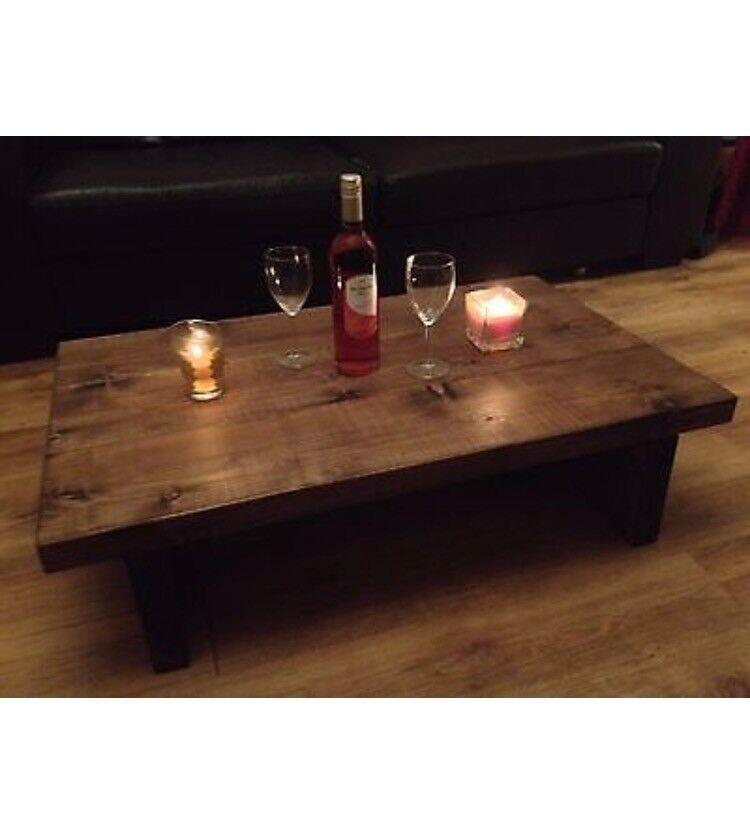 Rustic Handmade Coffee Table