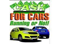 We buy scrap cars and vans and 4x4