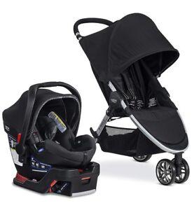 BRITAX B-Agile/B-Safe 35 Travel System Stroller