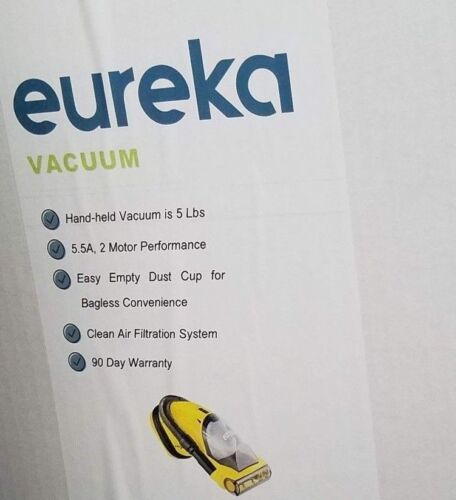 Eureka Easy Clean Hand Vac Yellow 71BEUREKA