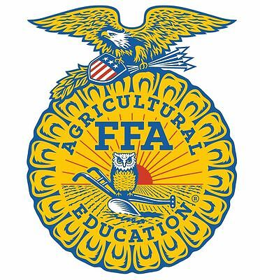 Home Decoration - National FFA Organization Vinyl Sticker Decal M488 Agricultural Education