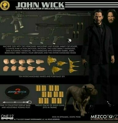 IN HAND Mezco John Wick Chapter 2 Deluxe Edition One:12 Exclusive SOLD OUT