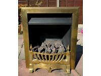 Coal effect gas fire