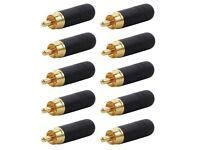 Lot of 8 New ORIGINAL Switchcraft AAA3MZ XLR Male Connector Cable Mount