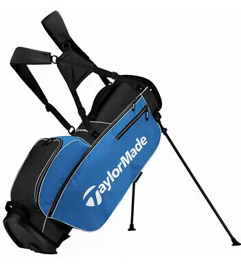 New TaylorMade 2017 tm stand golf bag 5.0 - Black / Blue / White