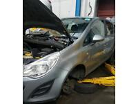 2011 vauxhall corsa d breaking for spares A12XER 1.2 automatic low miles