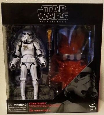 Star Wars Black Series 6 inch exclusive Stormtrooper with Blast Accessories