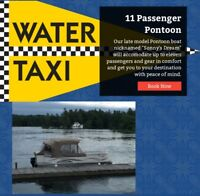 Water Taxi / Boat Charter