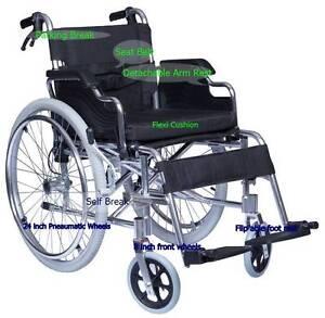 Brand New Skiiddii Foldable Aluminium Alloy Wheel chair 24 wheels Auburn Auburn Area Preview
