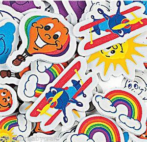 50-Foam-Airplane-Hot-Air-Balloon-Kite-Rainbow-Sun-Stickers-Shapes-Kids-ABCraft