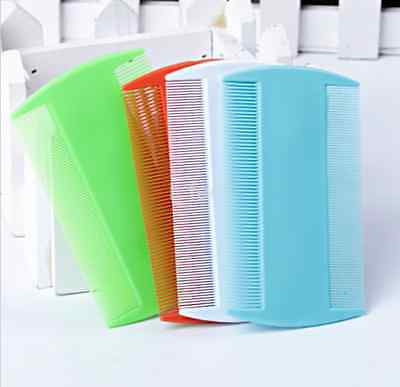 Wholesale 2PCS Double Sided Nit Combs for Head Lice Detection Comb Kids Pet Flea