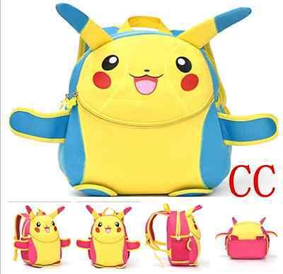 Cartoon Backpack Pikachu Pokemon Train Theme School Bag for Children - Pokemon Backpacks For School