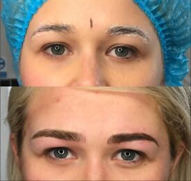 Microblading £60 per session, limited time only.