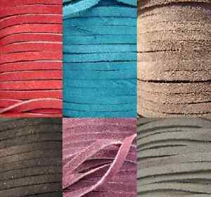 Genuine-Leather-Cord-Suede-Lace-Buy-Exactly-as-Much-as-You-Need-9-Colors