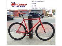 Brand new single speed fixed gear fixie bike/ road bike/ bicycles + 1year warranty & free service nl