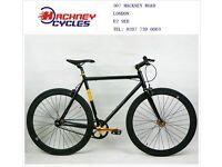 Aluminium single speed fixed gear fixie bike/ road bike/ bicycles + 1year warranty & free service 10