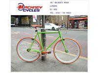 Brand new single speed fixed gear fixie bike/ road bike/ bicycles + 1year warranty & free service 1c