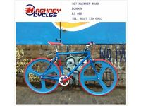 Aluminium single speed fixed gear fixie bike/ road bike/ bicycles + 1year warranty & free service d4