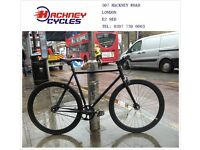 Brand new single speed fixed gear fixie bike/ road bike/ bicycles + 1year warranty & free service 4d