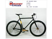 Brand new single speed fixed gear fixie bike/ road bike/ bicycles + 1year warranty & free service