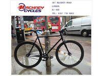 Brand new single speed fixed gear fixie bike/ road bike/ bicycles + 1year warranty & free service 7v