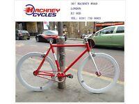Aluminium single speed fixed gear fixie bike/ road bike/ bicycles + 1year warranty & free service 1