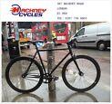 Brand new single speed fixed gear fixie bike/ road bike/ bicycles + 1year warranty & free service 8t