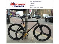 Aluminium single speed fixed gear fixie bike/ road bike/ bicycles + 1year warranty & free service dq