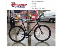 Brand new single speed fixed gear fixie bike/ road bike/ bicycles + 1year warranty & service 1f