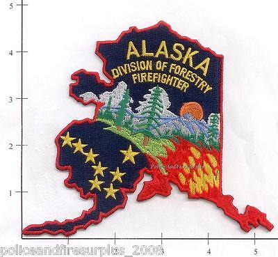 Alaska - Division of Forestry Firefighter AK Fire Dept Patch