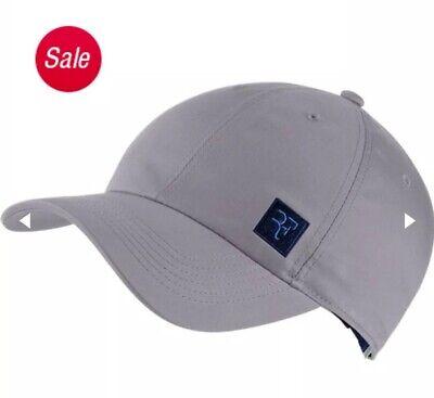 c042fe94 Nike Roger Federer RF Aerobill Essential Tennis Hat Adjustable Purple  AQ9094-581