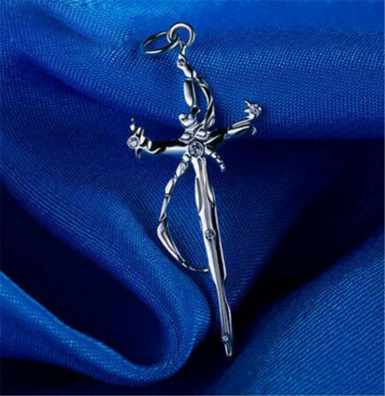 K Project The Sword of Damocles Necklace Pendant 925 Silver Cosplay Gift S size