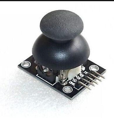 2pcs Dual-axis Xy Joystick Module Ps2 Joystick Control Lever Sensor For Arduino