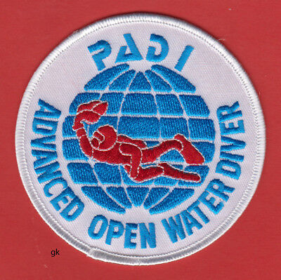 "PADI ADVANCED OPEN WATER DIVER SCUBA DIVE PATCH 4"" for sale  Shipping to Nigeria"