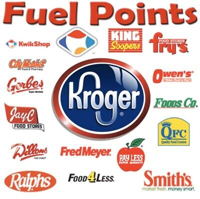 Kroger 3000 Fuel Points Expiring 9/30/2021. Electronic Delivery.